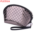 PLEEGA Brand New Fashion Women Cosmetic Bag Portable Waterproof Ladies PU Makeup Bag Travel Make Up Organizer Bag Women Wash Bag