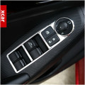 For MAZDA 3 2014 AXELA inside door handle panel sticker ABS chrome surround window switch trim for AXELA accessories
