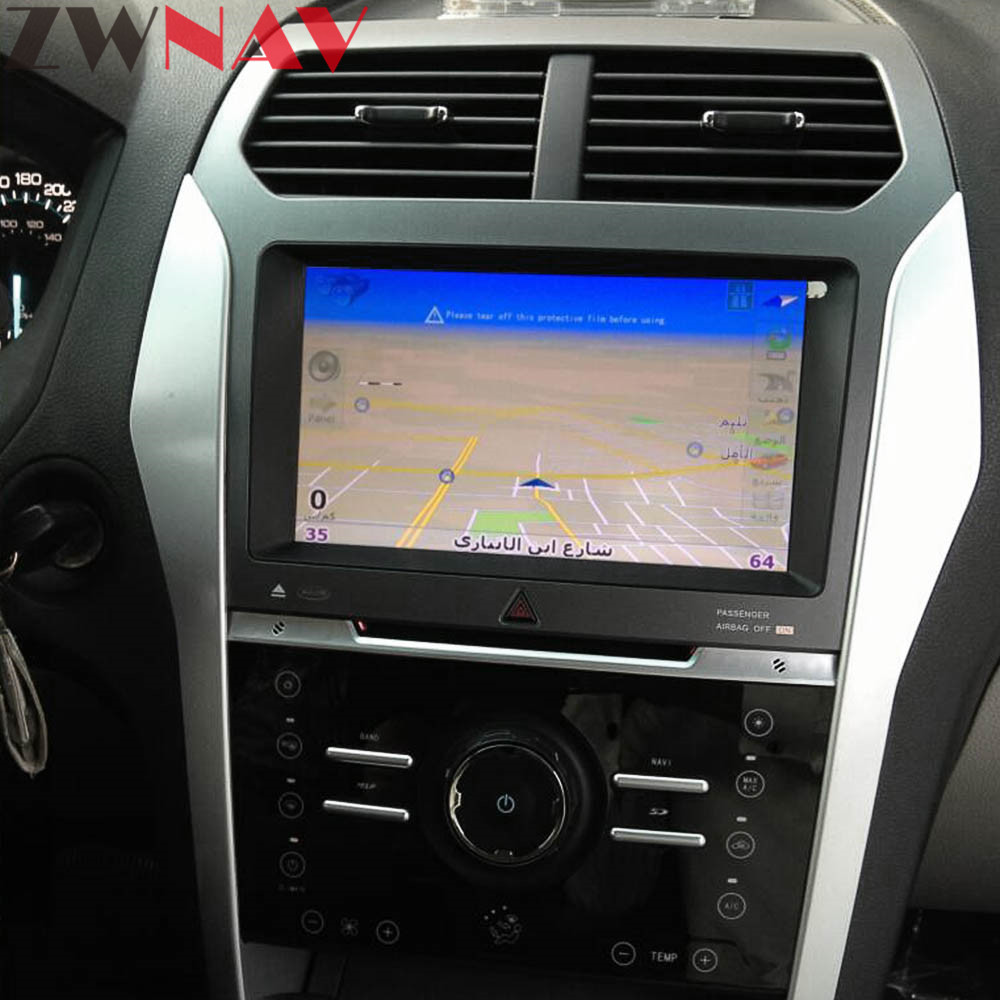 Android S160 Dual system Car GPS Navigation Auto stereo Radio Screen For Ford Explorer 2011 2016 GPS Android Display