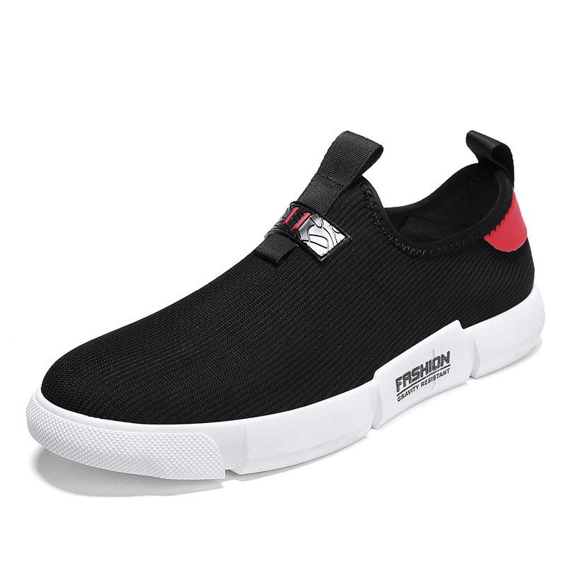 Krasovki Hommes Laisumk Sur Sneakers rouge Glissement Poids Masculino Chaussures blanc jaune Tenis Noir Respirant Léger 8qwax4fq