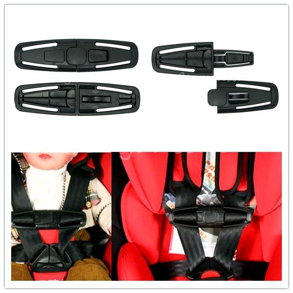 Car Baby Child Safety Seat Strap Belt Harness Chest Clip Buckle Latch Nylon PA66 14.5x4cm