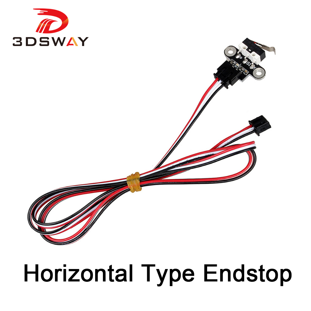 3DSWAY 3D Printer Parts Mechanical Endstop Limit Switch Module Endstop Switch Horizontal Type for DIY 3D Printer 1pcs