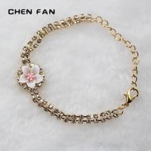 jewelry bracelets womens for women femme Fashion accessory flower 2019 bracelet bijouteri