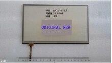 El nuevo DESAY siei genuino resistencia pantalla táctil de navegación GPS de 8 pulgadas 192*116 de la pantalla táctil