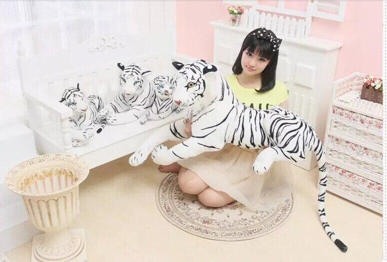 stuffed toy ,90cm white tiger prone tiger plush toy ,Birthday gift p2059 stuffed animal 88 cm plush lying tiger toy white tiger doll great gift w493