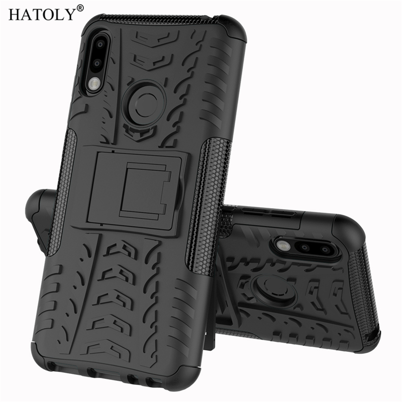 HATOLY For Cover Asus Zenfone Max Pro M2 ZB631KL Case Armor Silicone Rugged Hard Plastic Cases For Zenfone Max Pro M2 ZB631KL