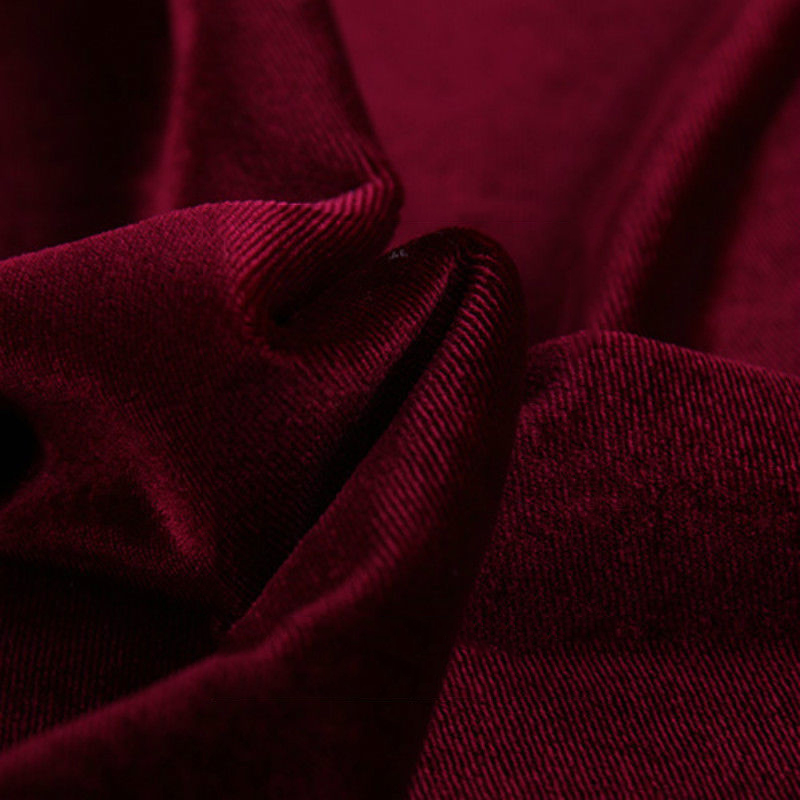 Craft Thick Velvet Fabric Dress Cloth Upholstery Tablecloths Curtains 1.6*1m