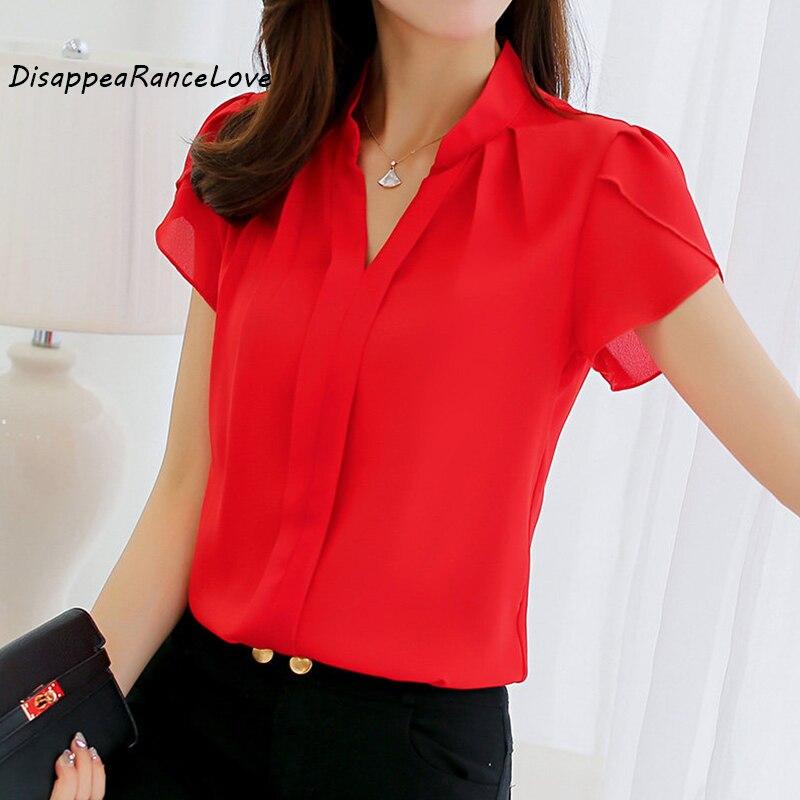 DRL Brand 2017 Women Shirt Chiffon Blusas