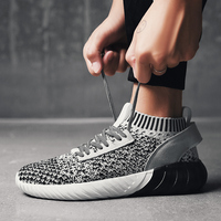 Man Running Shoes Comfortable Mens Spring Autumn Sneakers Black Green Sneakers China Lightweight Jogging Shoes For Men