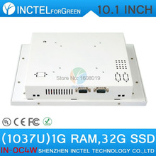 ITM Industrial Touch Monitors with 10.1 Inch all in one 1G RAM 32G SSD White Color 1037u processor linux(China (Mainland))