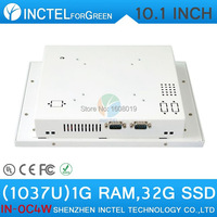 ITM Industrial Touch Monitors With 10 1 Inch All In One 1G RAM 32G SSD White