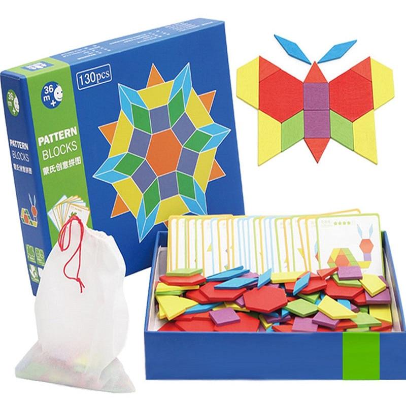 Rätsel & Spiele 130 Teile/satz Holz Spiele Bildungs Kind Puzzle Lernen Bildung Holz Entwicklung Spielzeug Für Jungen Mädchen Jouet Enfant Sammeln & Seltenes