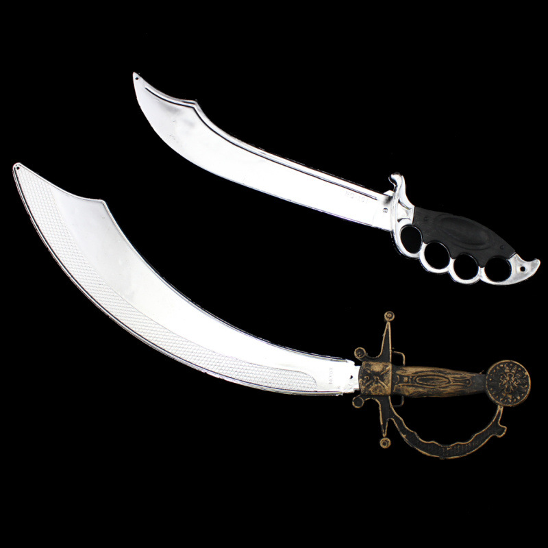 Halloween Masquerade Party Cosplay Pirates Costume Accessories Plastic Knives, Pirates of the Caribbean Knife Toys For Kids Boys devil may cry 4 dante cosplay wig halloween party cosplay wigs free shipping