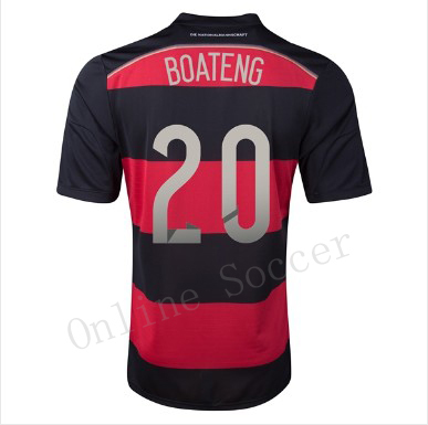 87e7a5cc12166 4 stars Top quality Germany Jersey 2014 BOATENG HOWEDES camisa alemanha  Klose Germany World Cup 2014 Soccer Jersey FootballShirt em Camisas de  futebol de ...