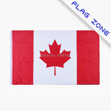 2017 The Canada flag Maple leaf  Polyester Flag 5*3 FT 150*90 CM OR 3*2FT High Quality Add elelets or stick pole