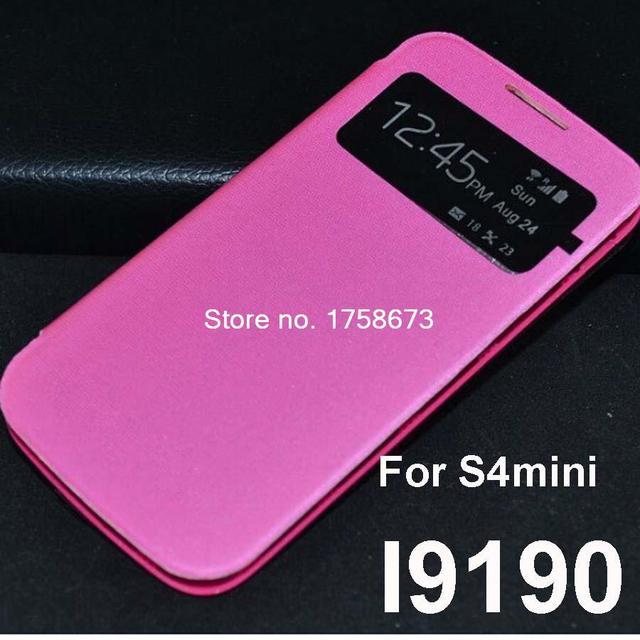 new arrivals 361c1 7b474 View Window Flip cover case for Samsung Galaxy S4 Mini I9190 9190 ...