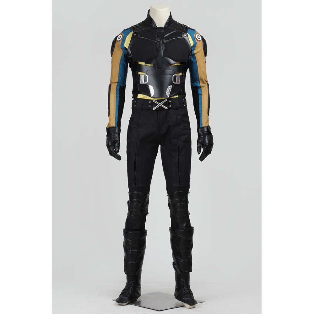 X hommes Cosplay x-men Costume de combat tenue adulte hommes Halloween carnaval Cosplay Costume