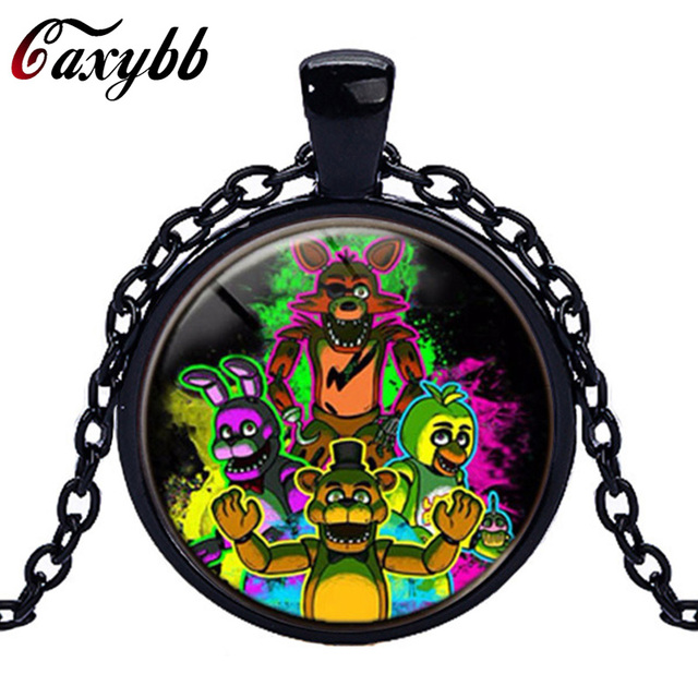 Caxybb brand 5 five nights at freddys necklace toys freddy fazbear caxybb brand 5 five nights at freddys necklace toys freddy fazbear scrabble tile pendant necklace glass mozeypictures Gallery