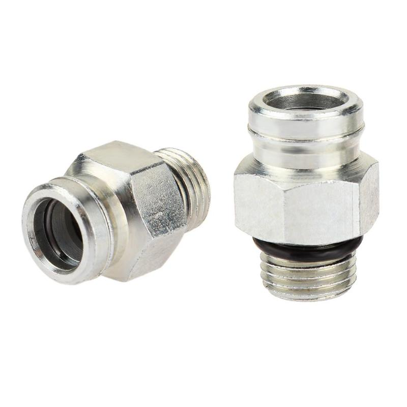 Quick Connect Fittings >> Us 12 62 12 Off 1 Pair High Pressure Oil Pump Cylinder Hpop Quick Connect Fittings For Ford 7 3l Powerstroke Diesel Oil Pumps Auto Accessories In