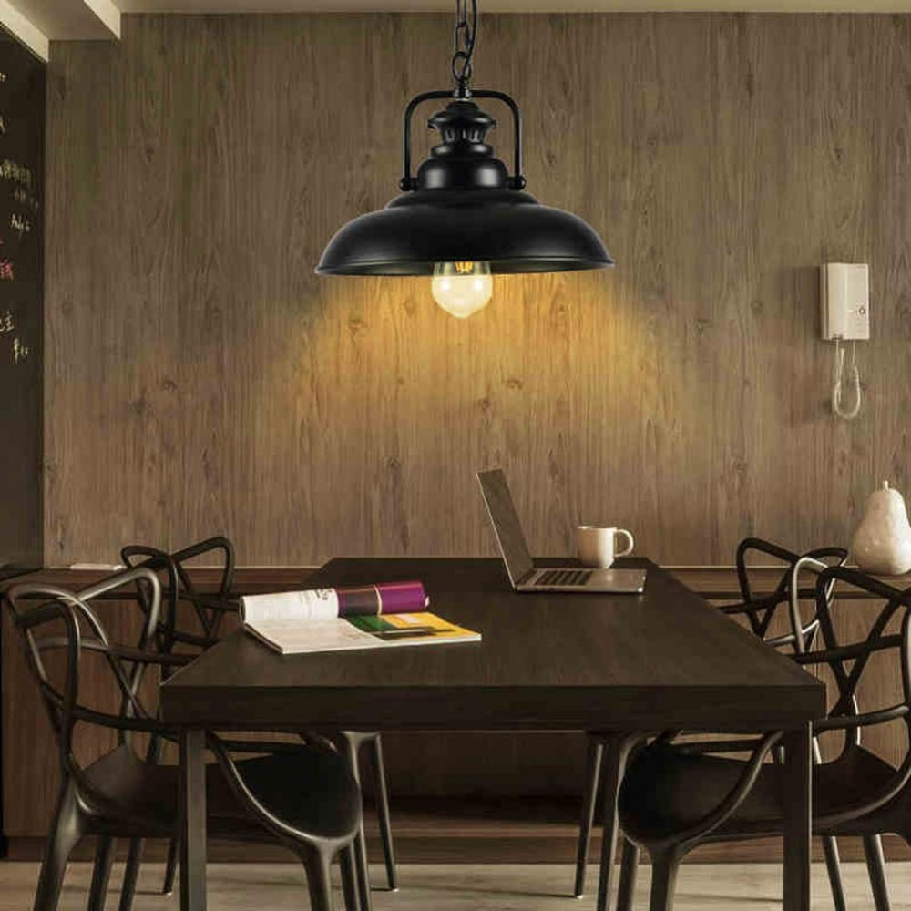Metal Retro Nordic Restaurant Bar Droplight American Country Industry Ancient E27 Light Pendant Lamp Pot Droplight retro pendant lamp nordic loft restaurant bar droplight american country industry ancient style iron single head pot light