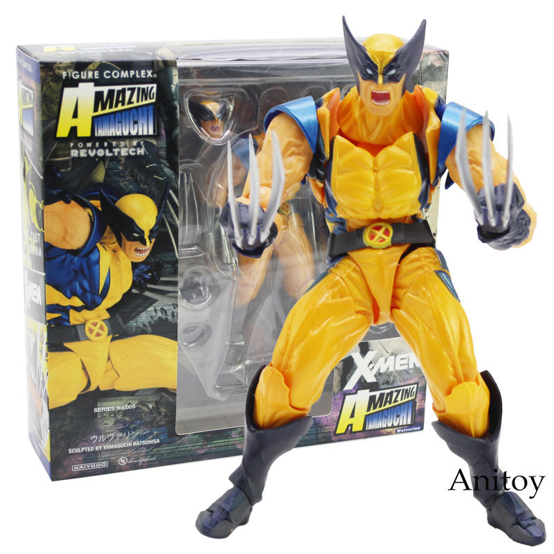 Revoltech Series NO.005 X-Men Logan PVC Action Figure Collectible Model Toy 15cm madonna the confessions tour