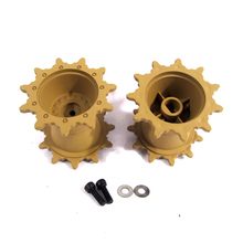 HENG LONG driving wheels for 3918/3918-1 RC tank U.S. M1A2 ABRAMS 1/16 Plastic spare parts drive wheel sprockets