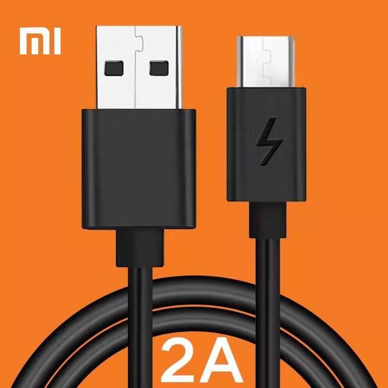 Original Xiao mi câble mi cro USB câble 2A chargeur rapide pour Xiao mi 2 2A 3 4 Max rouge mi 4X 4A 5A 5 Plus Note 4 4X 4A 5 5A 3 3X 2A