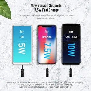 Image 3 - רוק עכביש יניקה כוס אלחוטי מטען עבור iPhone X Xr XS מקס מיני 10W מהיר טעינה אלחוטי Pad עבור סמסונג הערה 8 9 S9 + S8
