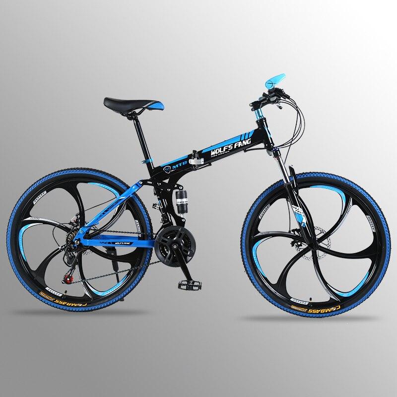 Vol Leopard VTT 21 vitesse 26 pouces vélo Pliant vélo de route À Double freins à disque pliage VTT s étudiant vélo