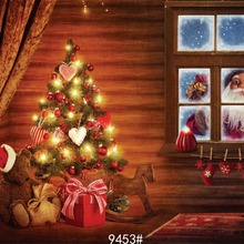 Детский Рождественский фон для фотосъемки в помещении 210x150 см фон для фотосъемки фотостудия винил