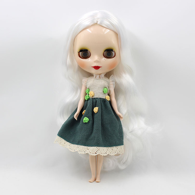 Neo Blythe Doll Fashionable Flowers Dress