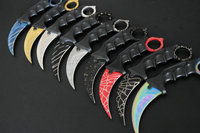 OEM CS GO Fade Counter Strike Karambit Knives Hunting Fighting Tactical Survival Rescue Knife Navajas Couteau