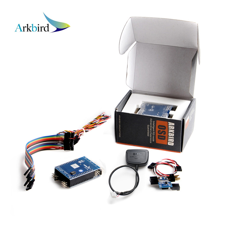 Arkbird FPV Standard OSD Autopilot V1.3028 Flight Controller System With M8N GPS Current Sensor For Fixed Wing Aircafts