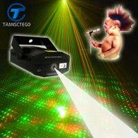 Led Disco Licht Laser Mini Tragbare Akustische Sound Control Bühne lampe Für Bar Bühne KTV Sternenhimmel Disco Nacht Laser lichter Bühnen-Lichteffekt Licht & Beleuchtung -