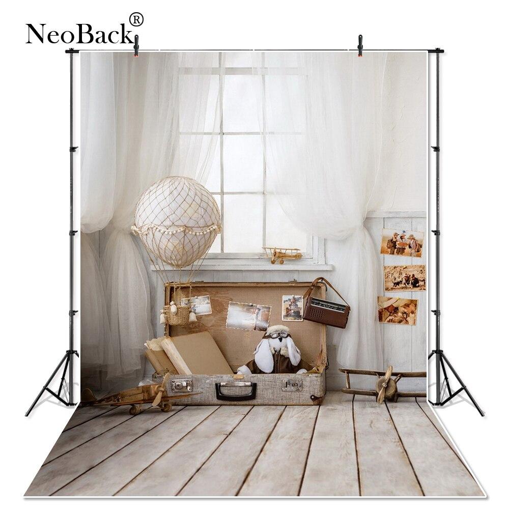 NeoBack Thin vinyl cloth New Born Baby Photography Backdrop children kids backdrops Printing Studio Photo backgrounds P1438