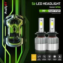 Modifygt S2 H7 Led H4 led H11 H1 9005 9006 Car LED Headlight 12v 72W 8000LM 6000K Bulbs Auto Headlamp light car accessories