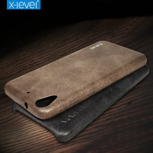 X-Level For HTC Desire 626 / 628 Case Retro Luxury PU Leather Back Cover Slim Fundas Soft Phone Cases For HTC Desire 530(China)
