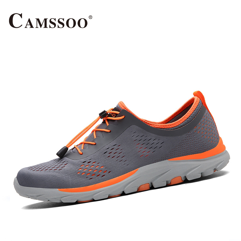 Camssoo Running Shoes Men Sneakers Comfortable Athletic Shoes Men Outdoor Breathable Trainers Size Eu 39-44 AA40374 ...