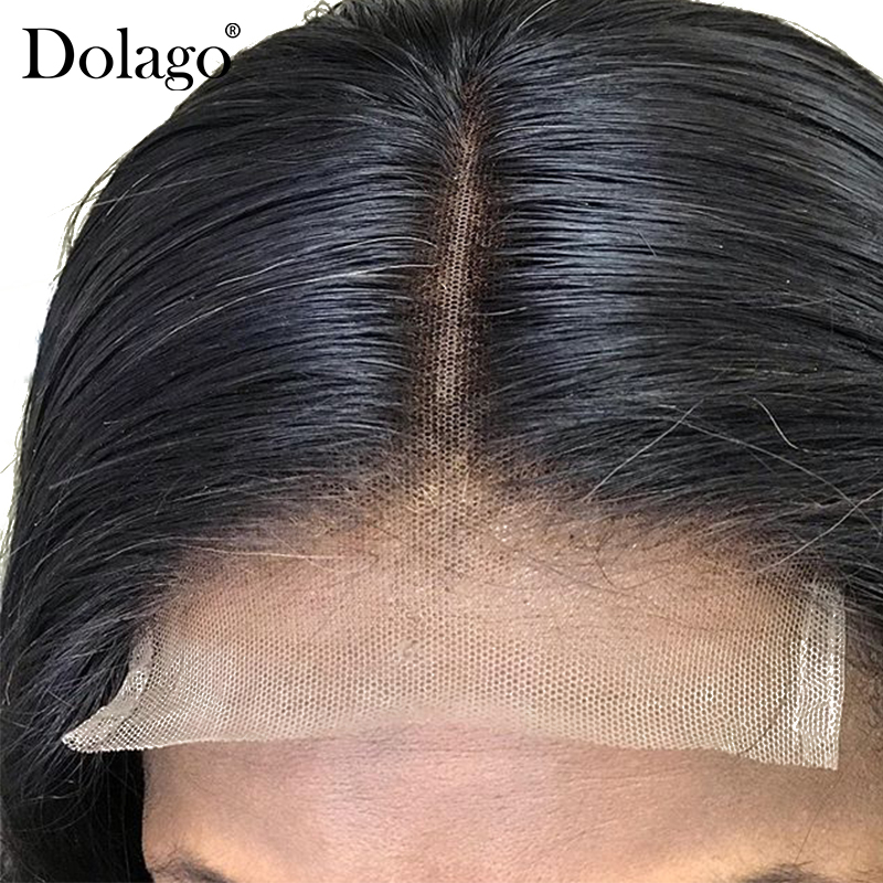 5x5 Lace Closure Wig Body Wave Lace Front Human Hair Wigs 180% Density Brazilian Remy Lace Frontal Wig Short Bob Dolago