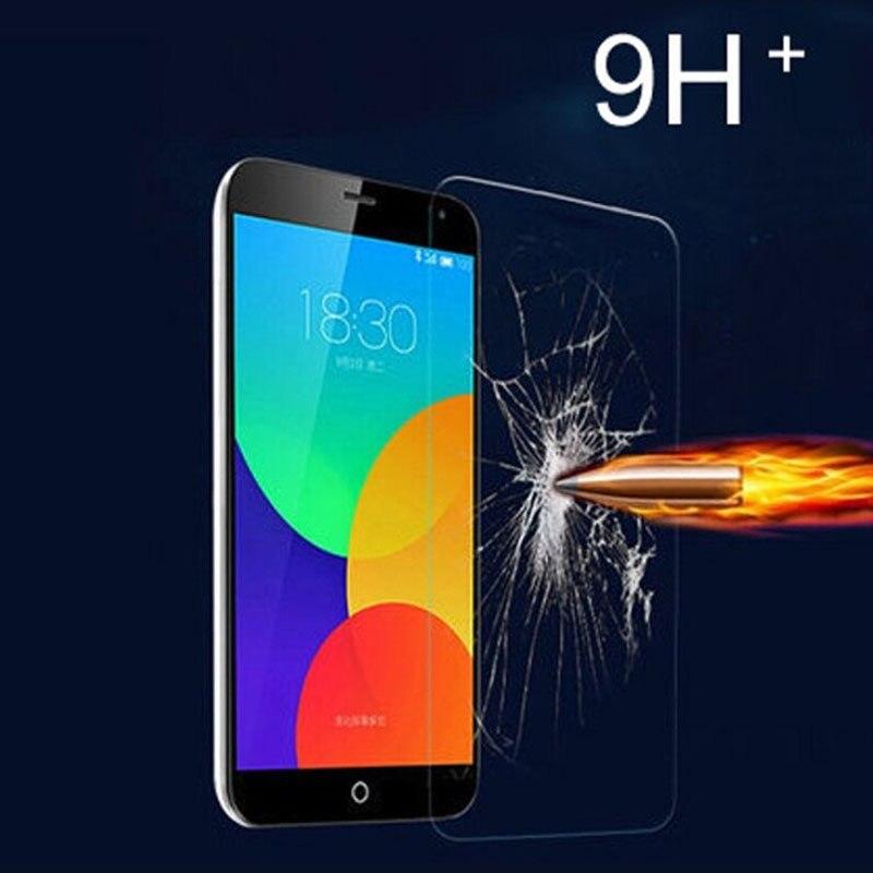 2.5D 9 H Экран протектор Закаленное Стекло для Meizu M2 Mini M2 Note M3 Note MX4 MX5 mx6 Pro 5 pro 6 металлических Телефонные Чехлы Плёнки
