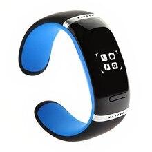 สมาร์ทสายรัดข้อมือL12S OLEDบลูทูธสร้อยข้อมือนาฬิกาข้อมือที่ออกแบบมาสำหรับIOSและA Ndroidโทรศัพท์W Earableอิเล็กทรอนิกส์