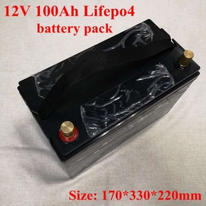 Image 2 - 12V 100AH Lifepo4 Batterie Waterproof with BMS for Golf Carts Campers Power Supply EV Solar Storage Motorhomes + 10A Charger