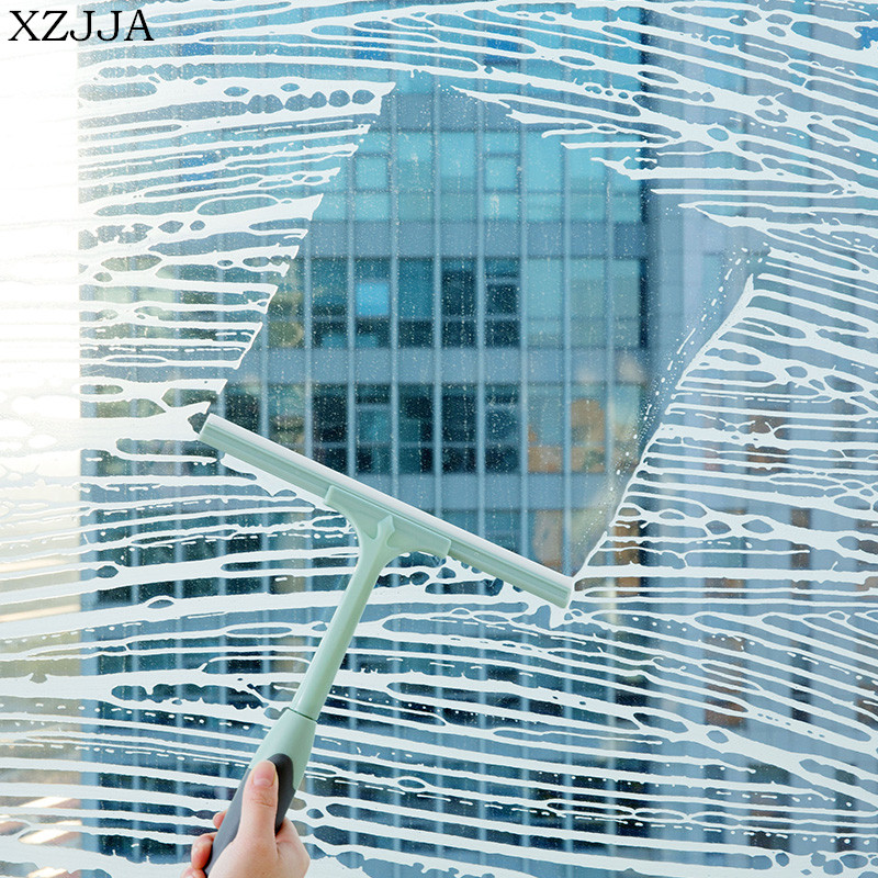 XZJJA High Quality Glass Cleaning Brush Household Multifunctional Clean Helper Car Window Washing Tool
