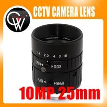 25ミリメートルhd工業カメラ固定マニュアルアイリスフォーカスズームレンズcマウントcctvレンズ用cctvカメラまたは産業顕微鏡 10mp