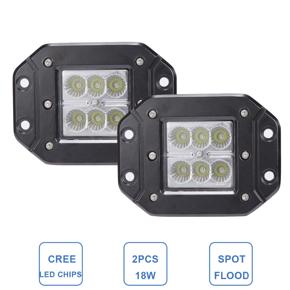 Online Get Cheap 12v Led Work Lights Flush Mount Aliexpresscom