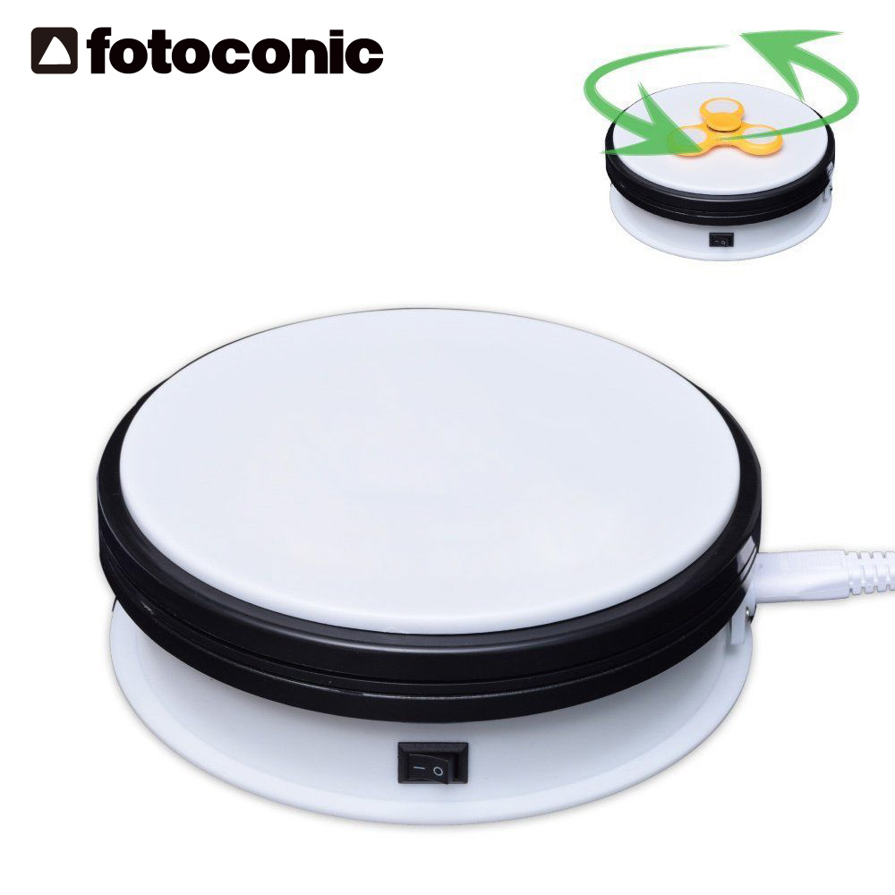 Fotoconic 15cm 6 3D Photo 360 Degree Electric Rotating Turntable for Photography Jewelry Model Show & Video Max Load 16kg цена