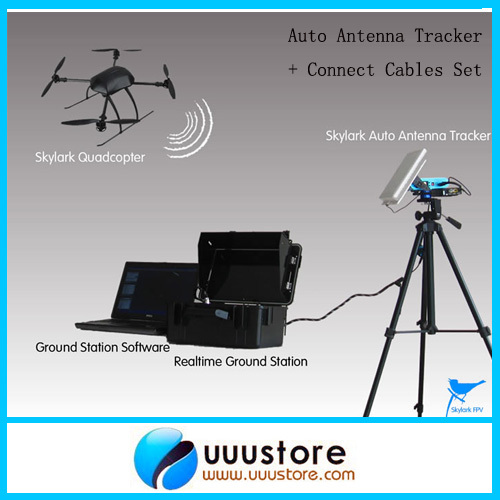 Skylark AAT Auto Antanna Tracker IV w/Compass Bluetooth for FPV (Latest Version) aat convert module for other brand osd the newest skylark automatic aerial conversion antenna tracking cooperate with use new
