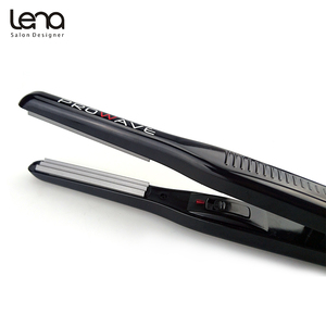 Image 4 - Lena LN 328 220V Professional Crimper Ceramic Corrugated Curler Curling Iron Hair Styler Electric Corrugation Wave Hair