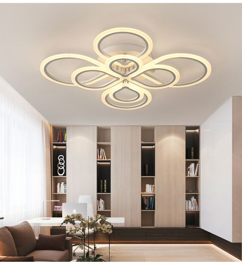 HTB1bkXvef1H3KVjSZFHq6zKppXaM Lamps Plus Chandeliers | Crystal Ceiling Lights | Rings Modern Led Ceiling Light For Living room Bedroom Luminaires Black White Acrylic Surface Mounted Chandelier Ceiling Lamps 001