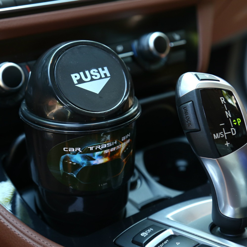 Car Garbage Can Car Ashtray Car Trash Can Garbage Dust Case